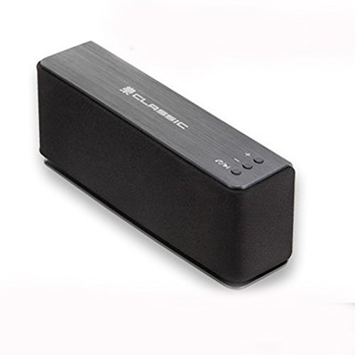 MGTEC ROCK CLASSIC Bluetooth 4.0 Portable Wireless Speaker-BLACK